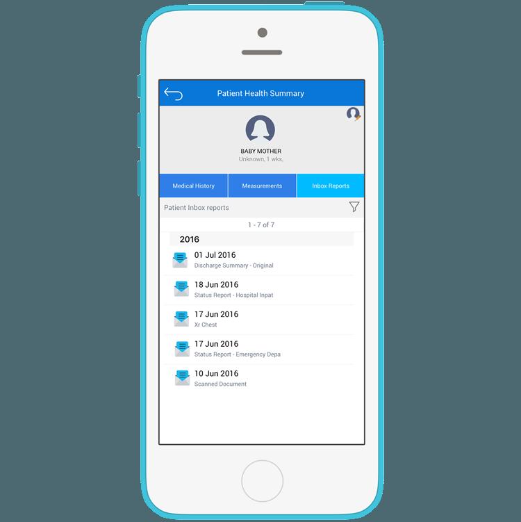 Medtech Mobile App Screens